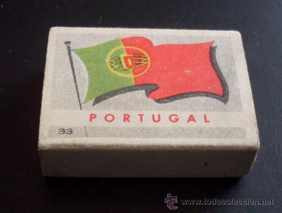 CAJA DE CERILLAS - PAISES - PORTUGAL - REVERSO BELEM - NUM 33 (Coleccionismo - Objetos para Fumar - Cajas de Cerillas)