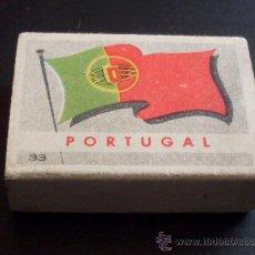 Cajas de Cerillas: CAJA DE CERILLAS - PAISES - PORTUGAL - REVERSO BELEM - NUM 33. Lote 27245520