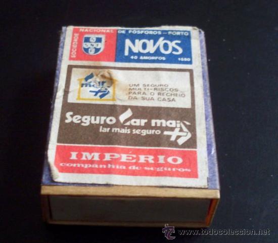 CAJA DE CERILLAS - SOCIEDAD NACIONAL DE FÓSFOROS PORTO - PORTUGAL (Coleccionismo - Objetos para Fumar - Cajas de Cerillas)