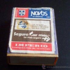 Cajas de Cerillas: CAJA DE CERILLAS - SOCIEDAD NACIONAL DE FÓSFOROS PORTO - PORTUGAL. Lote 21677624