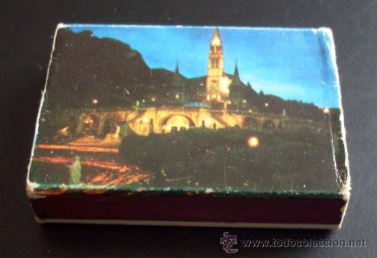 CAJA DE CERILLAS - PEREGRINACIÓN A LOURDES - 1977 (Coleccionismo - Objetos para Fumar - Cajas de Cerillas)