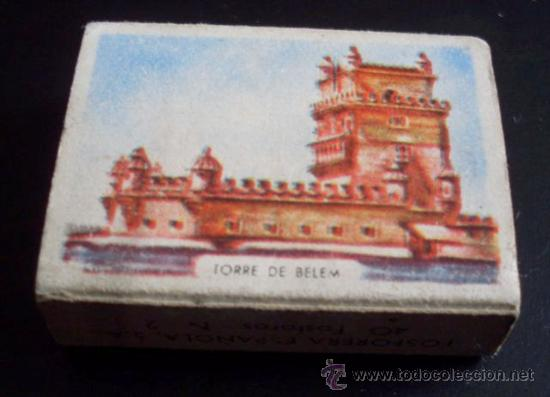 Cajas de Cerillas: CAJA DE CERILLAS - PAISES - PORTUGAL - REVERSO BELEM - NUM 33 - Foto 2 - 27245520