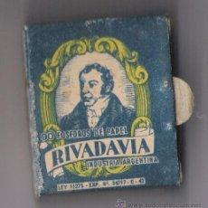 Cajas de Cerillas: RIVADAVIA INDUSTRIA ARGENTINA -AVELLANEDA *CIA.FOSFORERA ARGENTINA S.A.*. Lote 21995096