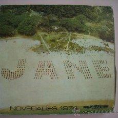 Cajas de Cerillas: ESTUCHE ORIGINAL DE 12 CAJA DE CERILLAS - JANÉ. AÑO 1974 (VER CONTENIDO EN EL INTERIOR). Lote 27006929