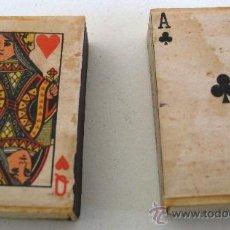Cajas de Cerillas: 2 CAJAS DE CERILLAS CON BARAJAS - WINSTON 152046, FABRICADO EN ITALIA , LLENAS. Lote 23818519