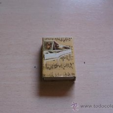 Cajas de Cerillas: CAJOTA DE CERILLAS / FOSFOROS COLECCION EL MUNDO DE LA MUSICA Nº 3. Lote 23895424