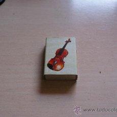 Cajas de Cerillas: CAJITA DE CERILLAS / FOSFOROS EL MUNDO DE LA MUSICA. Lote 23895495
