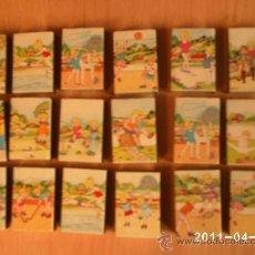 Cajas de Cerillas: 18 CAJAS DE CERILLAS - PRACTIQUE DEPORTE AL AIRE LIBRE-TENIS,VOLEIBOL,NATACION,CICLISMO,GINASIA,,,,. Lote 26940849