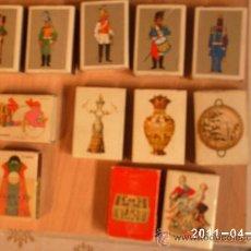 Cajas de Cerillas: CAJAS DE CERILLAS SOLDADOS,NAVIOS,CERAMICA...TOTAL 14 CAJAS. Lote 26941805