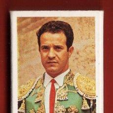 Cajas de Cerillas: CAJA CERILLAS - TAUROMAQUIA - GRANDES DIESTROS Nº 4 - DIEGO PUERTA DIANEZ - LLENA - AÑOS 70/80. Lote 28120909