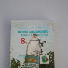 Cajas de Cerillas: CAJA CERILLAS PUBLICITARIA *BELASCOAIN*AGUA PURA DE MANANTIAL,GENERAL FOSFORERA S.A. MADRID, AÑOS 60. Lote 28321329