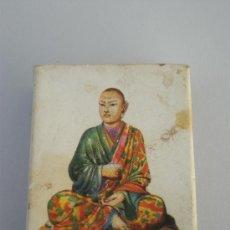 Cajas de Cerillas: CAJA CERILLAS, * CERAMICA CHINA *, FIGURA DE LOHAN ÉPOCA SUNG, FOSFORERA ESPAÑOLA.. Lote 28322725