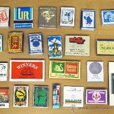 Cajas de Cerillas: CAJAS DE CERILLAS AÑOS 70-80. Lote 28914893