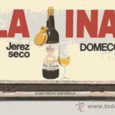 Cajas de Cerillas: CAJA DE CERILLAS LLENA /// LA INA - FUNDADOR // DOMECQ. Lote 29817994