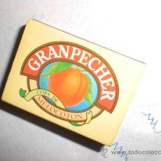 Cajas de Cerillas: CAJA CERILLAS GRANPECHER LICOR. Lote 29840217