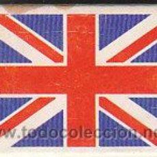 Cajas de Cerillas: CAJA DE CERILLAS, FOSFOROS DEL PIRINEO SERIE BANDERAS: GRAN BRETAÑA (ENTERA NO DESPLEGADA). Lote 30165800