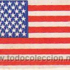 Cajas de Cerillas: CAJA DE CERILLAS, FOSFOROS DEL PIRINEO SERIE BANDERAS: ESTADOS UNIDOS (ENTERA NO DESPLEGADA). Lote 30165827