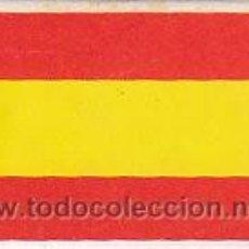 Cajas de Cerillas: CAJA DE CERILLAS, FOSFOROS DEL PIRINEO SERIE BANDERAS: ESPAÑA (ENTERA NO DESPLEGADA).SIN USAR. Lote 30165841