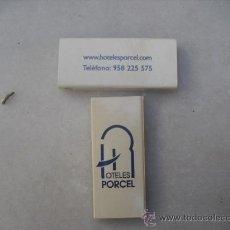 Cajas de Cerillas: 2 CAJAS DE CERILLAS LLENAS - HOTELES PORCEL. Lote 30258138