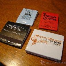 Cajas de Cerillas: LOTE 4 CAJAS DE CERILLAS. Lote 30519918
