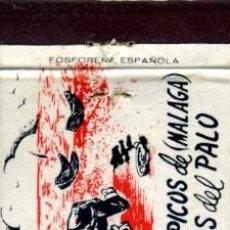 Cajas de Cerillas: CAJA DE CERILLAS. CARTERITA. RESTAURANTE CASA PEDRO. MALAGA. Lote 30570049