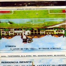 Cajas de Cerillas: CAJAS DE CERILLAS. CARTERITA. RESIDENCIA INFANTIL