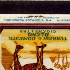 Cajas de Cerillas: CAJA DE CERILLAS. CARTERITA. CAMEL. Lote 30616625