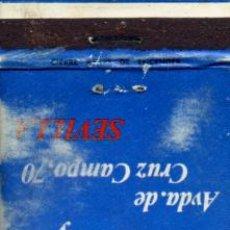Cajas de Cerillas: CAJA DE CERILLAS. CARTERITA. SALON RECREATIVO EXCALESTRIC. SEVILLA. Lote 30649935