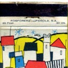 Cajas de Cerillas: CAJA DE CERILLAS. CARTERITA. . Lote 30654535