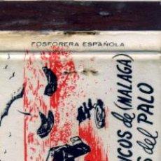 Cajas de Cerillas: CAJA DE CERILLAS. CARTERITA. CASA PEDRO. ESPETOS TÍPICOS DE MÁLAGA. EL PALO. Lote 30663966