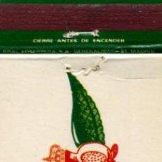 Cajas de Cerillas: CAJA DE CERILLAS. CARTERITA. BINGO REAL AERO CLUB. GRANADA. Lote 31040901