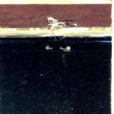 Cajas de Cerillas: CAJA DE CERILLAS. CARTERITA. SEAT SERVICIO OFICIAL