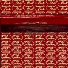 Cajas de Cerillas: CAJA DE CERILLAS. CARTERITA. GALERIAS CLUB. GALERIAS PRECIADOS. Lote 31294961