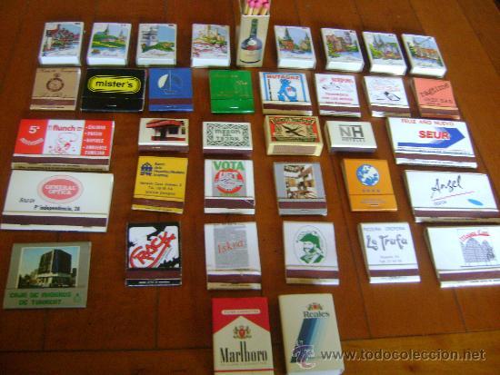 LOTE CAJAS DE CERILLAS (Coleccionismo - Objetos para Fumar - Cajas de Cerillas)