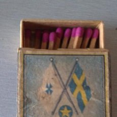 Cajas de Cerillas: CAJA DE CERILLAS SWEDISH LLOYD, SUECIA VINTAGE CON CERILLAS. Lote 32361369