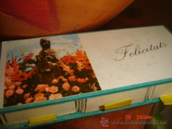 Cajas de Cerillas: CAJA DE CERILLAS FELICIDADES, RECUERDO DE MONTSERRAT, CON CERILLAS ORIGINALES - Foto 4 - 33857457