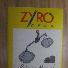 Cajas de Cerillas: 1 CAJA DE CERILLAS ZYRO , . Lote 34433270