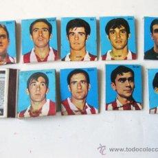Cajas de Cerillas: LOTE CAJA DE CERILLAS DE FUTBOL - RELOJ RADIANT DYNAMIC - ATLETICO Y REAL MADRID. Lote 35725113