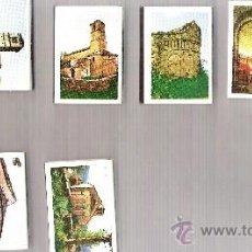 Cajas de Cerillas: LOTE 10 CAJAS DE CERILLAS - ARTE ROMÁNICO-MOZÁRABE. Lote 36899758