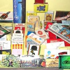 Cajas de Cerillas: COLECCIÓN DE MAS DE 50 CAJAS DE CERILLAS, DESDE LOS AÑOS 60-VED FOTOS.. Lote 37002327