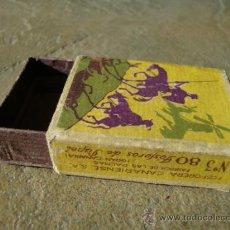 Cajas de Cerillas: CAJA CERILLAS CERVANTES EL QUIJOTE ANTIGUA. Lote 38650641