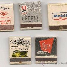 Cajas de Cerillas: LOTE DE CAJAS DE CERILLAS VINTAGE - XAVIER CUGAT - CITROEN - FRIGO..... Lote 39085518