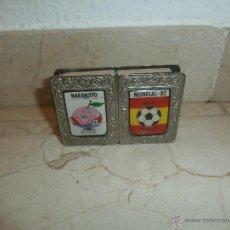 Cajas de Cerillas: CERRILLAS - ANTIGUA CAJA DE CERILLAS CON CERILLAS MUNDIAL FUTBOL ESPAÑA 82 NARANJITO, 111-1. Lote 39452807
