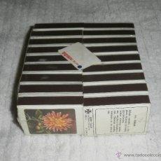 Cajas de Cerillas: CAJAS DE CERILLAS. FLORA, 18 CAJAS DE FOSFOREIRA PORTUGUESA. BLISTER SIN DESPRECINTAR. Lote 39579333