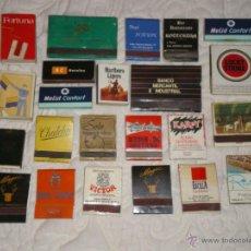 Cajas de Cerillas: LOTE DE 23 CAJAS DE CERILLAS . Lote 39573904
