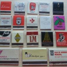 Cajas de Cerillas: LOTE DE 18 CAJAS DE CERILLAS Nº2. Lote 39828213