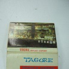 Cajas de Cerillas: CAJA CARTERILLA CERILLAS - TAGORE - MALAGA. Lote 40469205