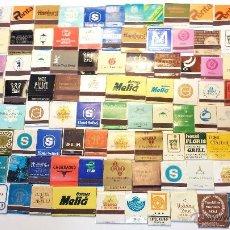 Cajas de Cerillas: LOTE 115 CAJAS DE CERILLAS DE LIBRILLO O CARTERILLA DE HOTELES DE EUROPA, IRAN,BRASIL,MEJICO,ETC.VER. Lote 42151617
