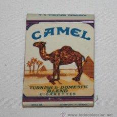 Cajas de Cerillas: CAJA ANTIGUA DE CERILLAS - CAMEL. Lote 42218703