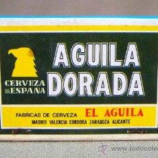 Cajas de Cerillas: CAJA DE CERILLAS AGUILA DORADA. Lote 42473795
